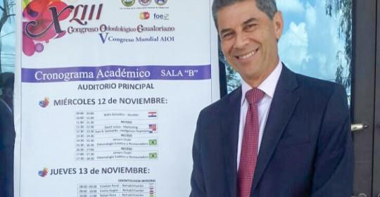 Conferencia en Ecuador